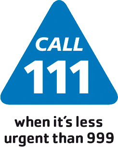 NHS 111 - When it's less urgent than 999